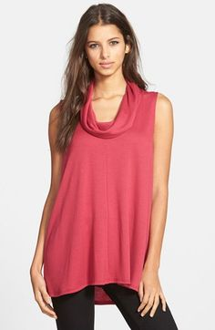 Free shipping and returns on Madison & Berkeley Cowl Neck Sleeveless Top at Nordstrom.com. Go ahead, pair this relaxed cowl neck top with your favorite teeny-tiny bottoms for an adorable study in layered proportions. A clean center seam helps streamline the silhouette of this versatile style.