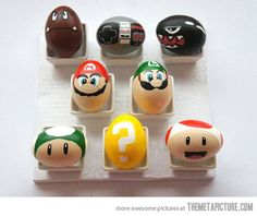 My easter eggs weren't this cool. Eh well. Try again next year.
