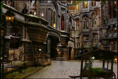 Diagon Alley - I want to go shopping there