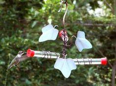 sehhhmbf - Ivy Leaf 3 Test Tube Hummingbird Feeder