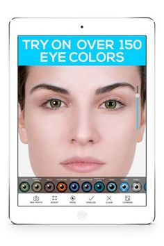 Try Out Different Looks With A Tailored-To-You App - 20 Cool (& Cheap!) Things Every Beauty Junkie Should Try, ASAP #refinery29