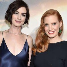 Moda Interestelar: Los mejores looks de Hathaway y Chastain