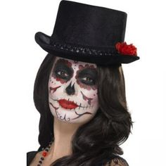 Day Of The Dead With Hat