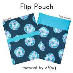 Flip Pouch Tutorial by a.squared.w by a²(w) - asquaredw - Ali, via Flickr