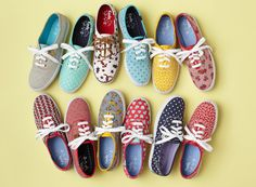 Keds: You can never go wrong with these this school year! There is a wide array of colors and prints to choose from and they add taste to any outfit. I like to stick with classic white.