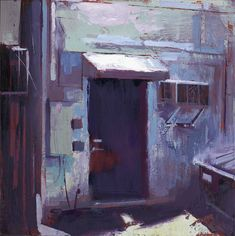 William Wray, Paintings. Ethereal urban landscapes paintings by artist William Wray who lives and works in California. Continue below to see more of William's work: [[MORE]] William Wray: Website