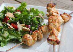 Make this Lebanese favorite at home! Shish Tawook will soon be your go-to chicken recipe thanks to the flavorful garlic, lemon, and yogurt marinade. Poulet Shish Taouk, Shish Tawook, Chicken Skewers, Marinated Chicken, Lebanese Chicken, Lebanese Recipes, Lebanese Cuisine, Winner Winner Chicken Dinner, Cooking Recipes