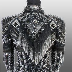 Heaven's on Fire Rail Jacket, custom made for Lexi Kim.