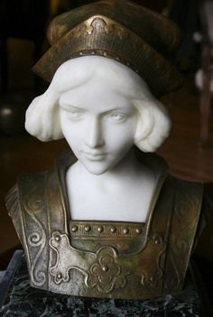 Joan of Arc, by Marcel Renard, probably done in the 1930s