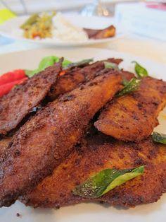 Malli's Mint and Mimosas: Fast Kerala Fish Fry Jiffy Recipes, Veg Recipes, Curry Recipes, Seafood Recipes, Indian Food Recipes, Cooking Recipes, Healthy Recipes, Kerala Recipes, Cooking Tips
