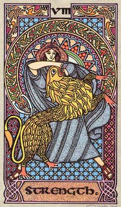 Celtic Tarot - VIII Strength