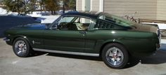 1965 Mustang Fastback 2+2, the favorite car I ever owned....was my first car!
