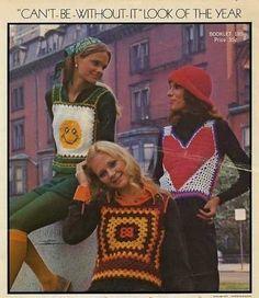 The Great Little Crochet Skimps Pattern Pamphlet Bernat 1972  #617185 3 Patterns #Bernat #Crochetpattern #Vest #Skimp