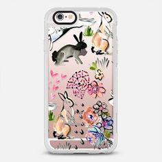 Clear Bunny Iphone Case