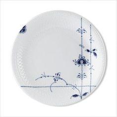 """Royal Copenhagen Blue Palmette 10"""" Dinner Plate"""