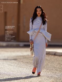 EDITORIAL: Sung Hee Kim in Vogue China, June 2014