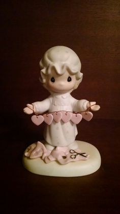 Precious Moments - You Have Touched So Many Hearts Porcelain Figurine