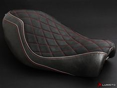 Harley Sportster Iron 883 Red Seat