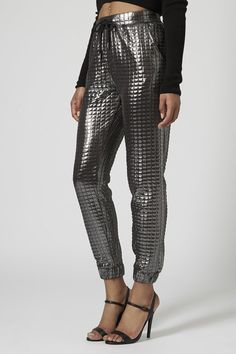 Quilted Metallic Joggers | 25 Budget-Friendly Looks You Can Wear To Kick Off The New Year In Style