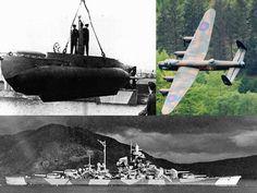 World War II's X men, crews of the dangerous X class midget submarines - http://www.warhistoryonline.com/war-articles/world-war-iis-men-crews-dangerous-class-midget-submarines.html