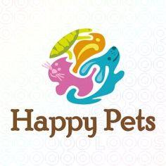 Happy Pets logo logo
