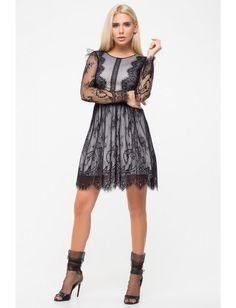 Нарядное платье из сетки и кружева. Рост модели 172 см. Опт 780 грн (оптовые цены от 3-х любых единиц)