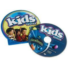TOPSELLER! Game Snacks - Kids Trivia DVD Game $0.40