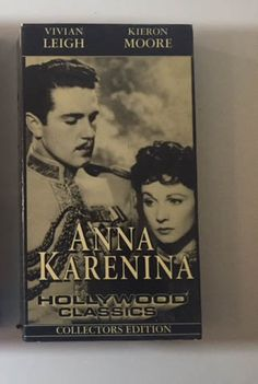 Anna Karenina with Vivien Leigh  1948 Film VHS by MsStreetUrchin