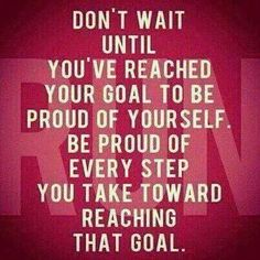 Love this, every step is important