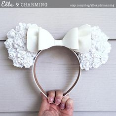 Floral Ears That Are Perfect for the Flower and Garden Festival!
