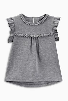 Buy Charcoal Rib Blouse (3mths-6yrs) online today at Next: Greece (€11)