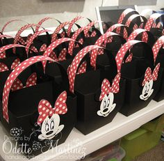 @Melissa Squires dominic Street - these are cute for favors . . .   Minnie Mouse