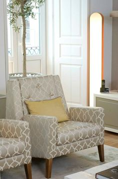 Private House 1 - Living Room  Armchair Geo, Ettero Collection