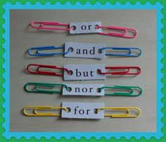 5 Conjunctions with clips