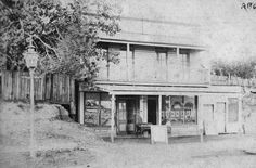 Mohoupt's shop, Rainbow Street, Sandgate Vic, ca. 1880s