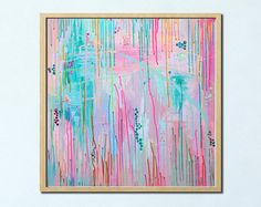 Abstract Painting Reserved for Deanna by RachaelHigbyArt on Etsy