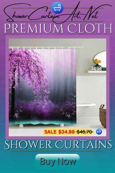 Drastically enhance your bathroom decor with a soft & stylish fabricshower curtain from Shower Curtain Art! Shower Curtain Art, Cool Shower Curtains, Floral Shower Curtains, Bathroom, Stylish, Decor, Floral Curtains, Washroom, Decoration