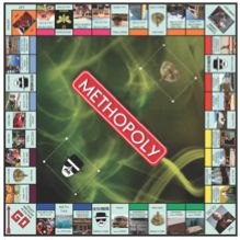 Methopoly_Board_Final    BREAKING BAD MONOPOLY?! YES PLEASE!