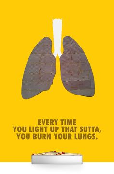 Anti-smoking Poster on Behance