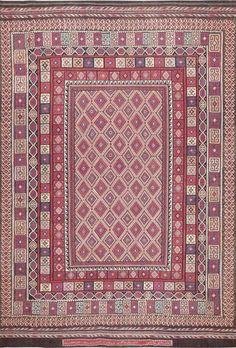 Large Vintage Persian Kilim Carpet : Lot 71