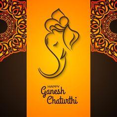 Baby Ganesha, Ganesha Art, Ganpati Invitation Card, Happy Ganesh Chaturthi Wishes, Ganesh Chaturthi Decoration, Ganesh Tattoo, Photos Of Lord Shiva, Ganesh Wallpaper, Lord Ganesha Paintings