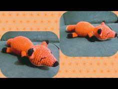 RAPOSA DE CROCHÊ PASSO A PASSO | VÍDEO AULA DE CROCHÊ | AMIGURUMI - YouTube Dinosaur Stuffed Animal, Youtube, Animals, Crochet Projects, Fox, Cute, Amigurumi, Animales, Animaux