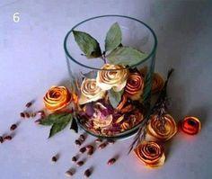 DIY Orange Peel Flower