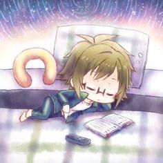 Được nhúng Anime Music, Anime Art, Rhythm Games, 4th Anniversary, Cute Boys, Chibi, Kawaii, Fan Art, Manga