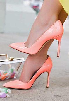 Pudra Rengi Topuklu Ayakkabı