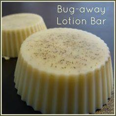 Thursamaday: Natural Insect repellent Lotion Bars (Bug-away Lotion Bar) perfect for camping!