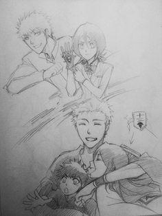 """"""" Bleach end. """"duongvjp: """" Bleach end. Bleach Ichigo And Rukia, Bleach Anime, Otaku, Bleach Couples, Bleach Fanart, Manga Books, Anime Angel, Shinigami, Anime Couples"""