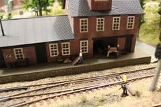 come in and visit http://modeltrainfigures.com for HO Scenery Items
