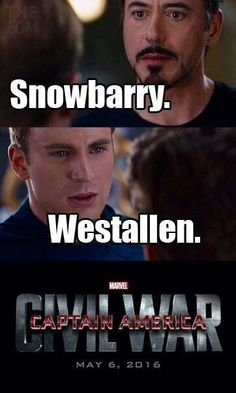 Sou time do Capitão América, mas Steve, vc vacilou com a minha pessoa pq sou Snowbarry...