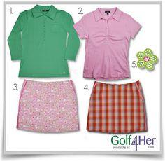 preppy golf fashion